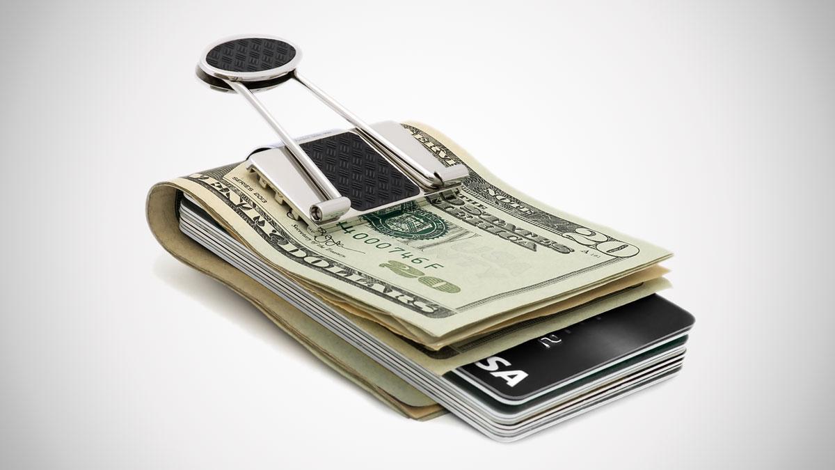 Speidel Binder Clip Money Clips