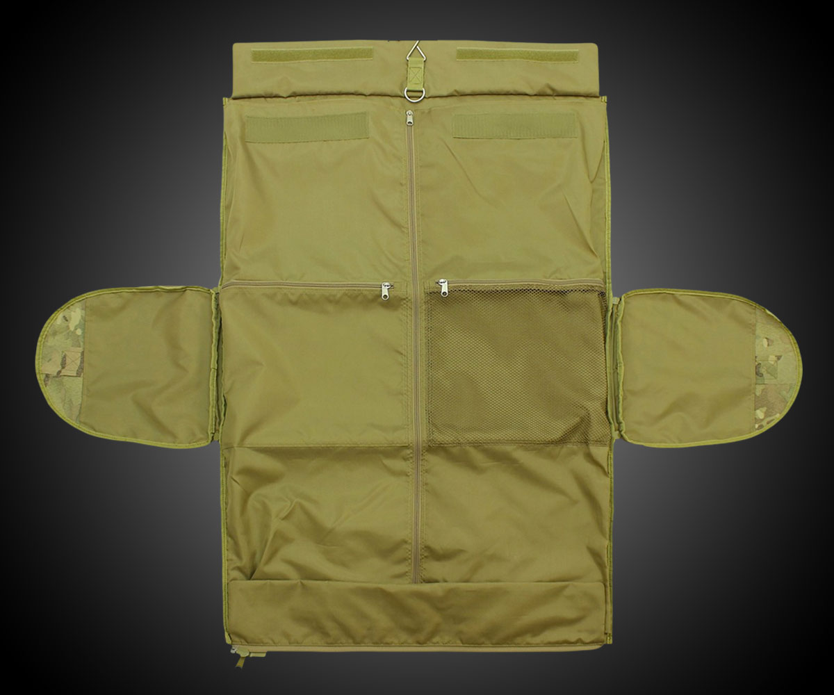800c2d275 Code Alpha Hybrid Garment / Duffel Bag | DudeIWantThat.com