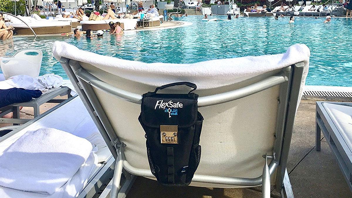 FlexSafe Packable Travel Vault