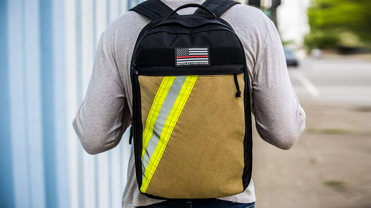 Recycled Firefighter The Chief Everyday Carry Backpack