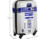 R2-D2 Carry-On Luggage