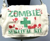 Zombie Survival Kit Messenger Bag