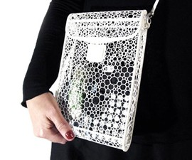 3D Printed Voronoi Bag