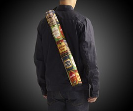 Beeracuda Over-the-Shoulder Beer Holder