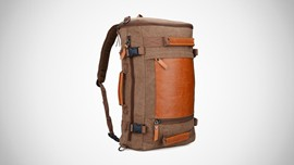 Witzman Retro Canvas Duffel Bag