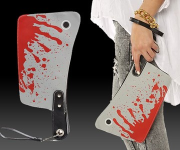 Bloody Cleaver Purse Dudeiwantthat Com