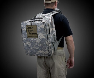 Combat Daddy Equipment Diaper Bag
