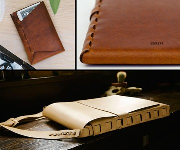 PACT Threadless, Glueless Leather Cases