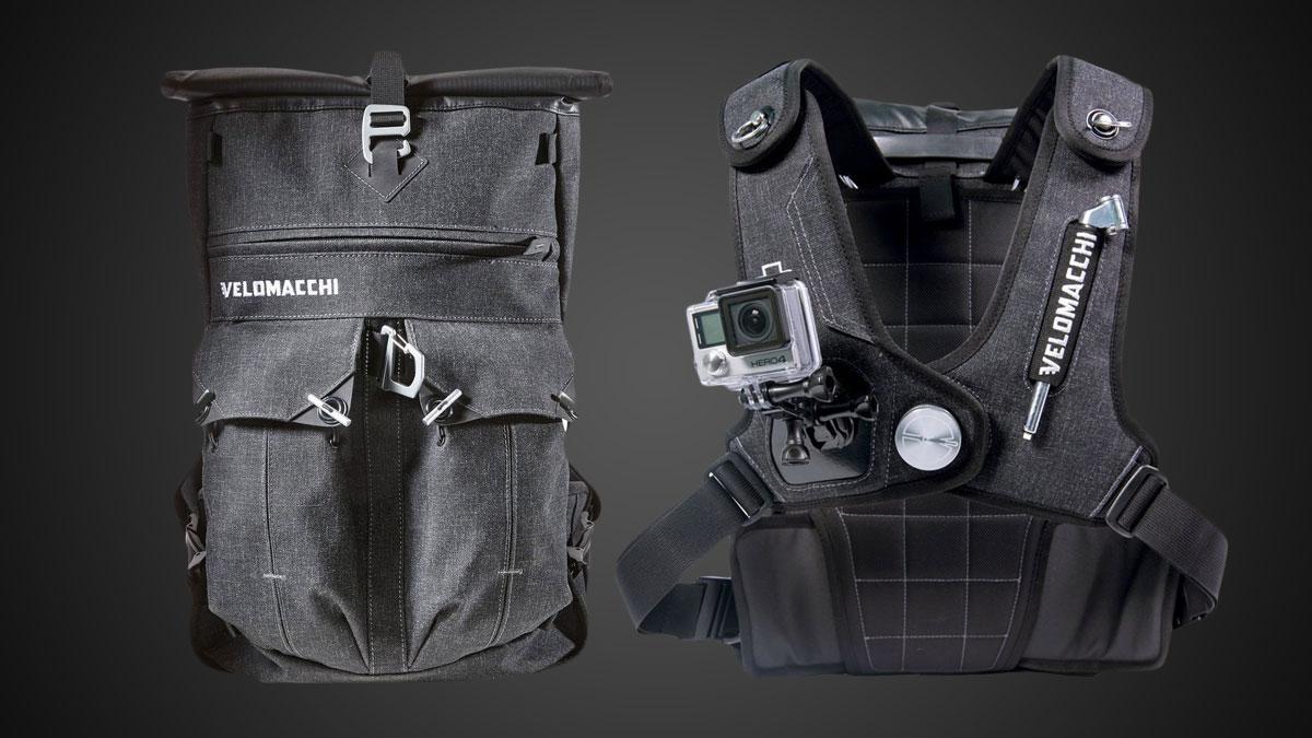 Velomacchi Waterproof Motorcycle Backpack