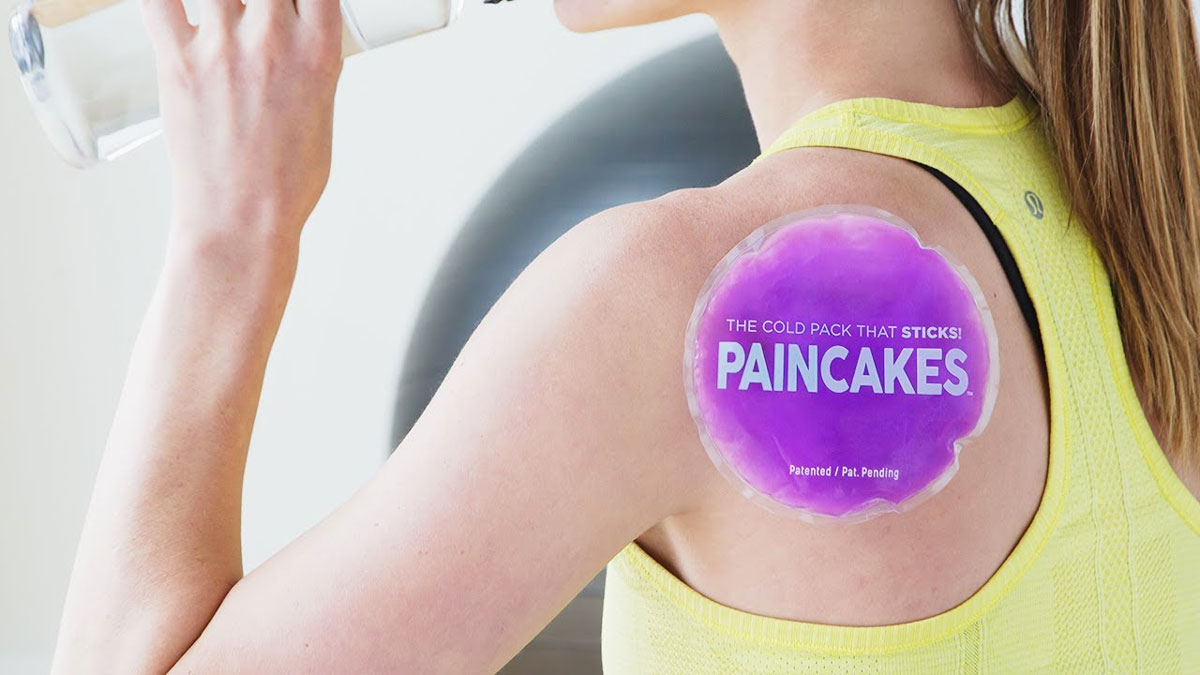 Paincakes Stick-On Cold Packs