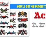 Magic Tatts Animated Tattoos