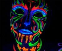 Black Light Makeup