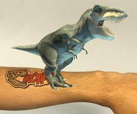 Magic Tatts 3D Animated Tattoos