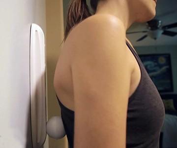 Mysseuse Self-Massager & Towel Holder