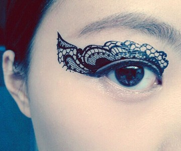 Temporary Eye Tattoos