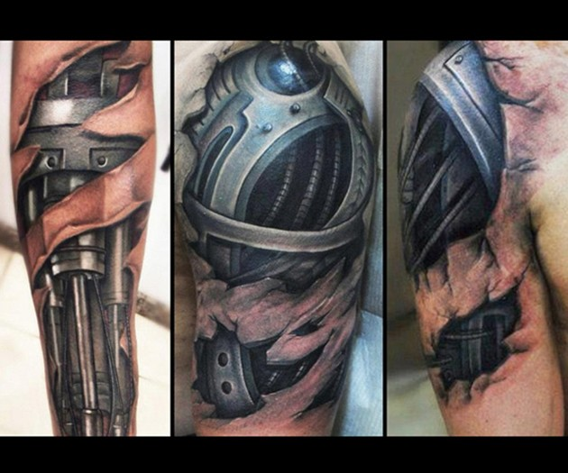 Cyborg Tattoos