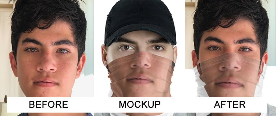 Your Face Custom Face Masks   DudeIWantThat.com
