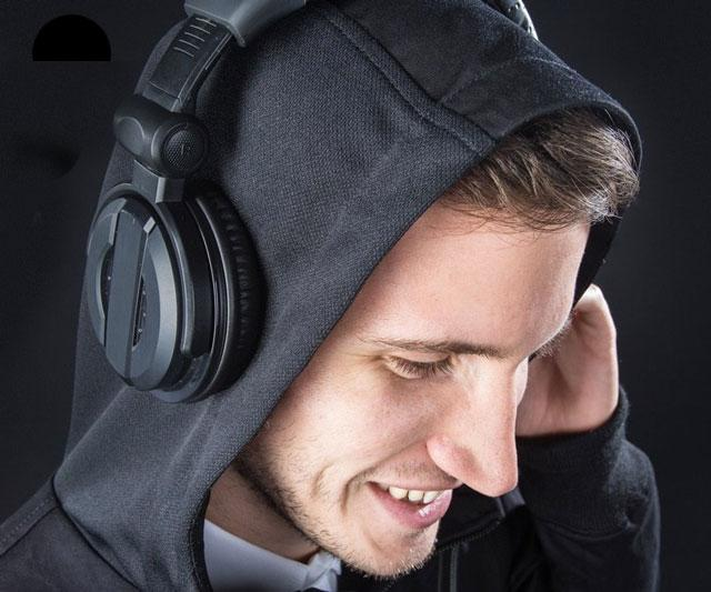 Acoustically Transparent Hoodie