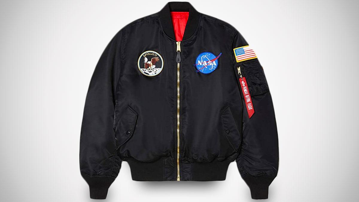 Alpha Industries Men's Apollo MA-1 Flight Jacket