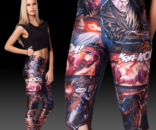 First Contact Sucks Leggings