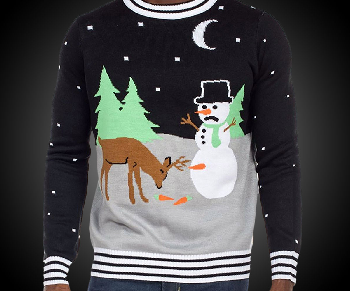 Frosty the Eunuch Ugly Christmas Sweater | DudeIWantThat.com
