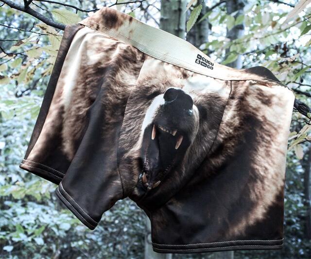 Grizzly Bear Underwear