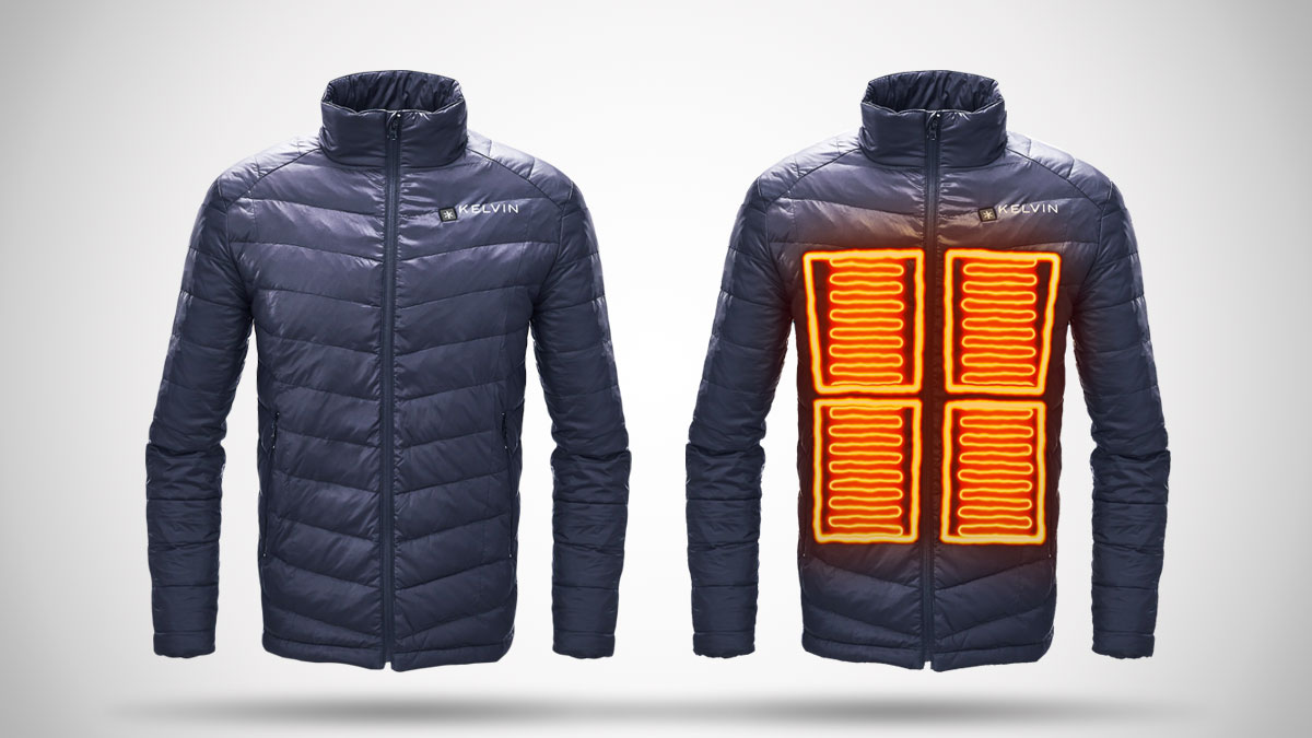 Kelvin Coats Heated Jackets Dudeiwantthat Com