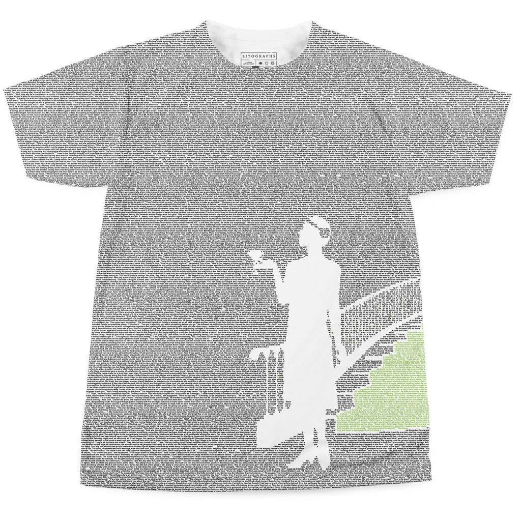 Litographs entire books on t shirts for Books printed on t shirts