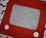 Etch A Sketch Skirt-7270