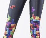 Tetris Leggings Close-up