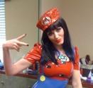 Super Mario Latex Dress-7845