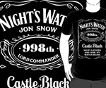 Game of Thrones NightsWatch Label
