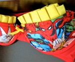 Marvel Comics Bra - Closeup