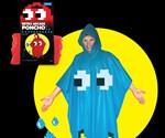 Pac Man Ghost Poncho & Packaging
