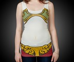 Princess Leia Slave Tank Top