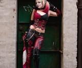 Arkham Harley Quinn Costume-3845