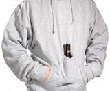 Beer Pouch Sweatshirt - Closeup View