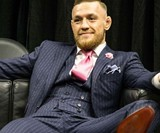 Conor McGregor F*ck You Pinstripe Suit