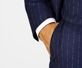 Conor McGregor F*ck You Pinstripe Suit