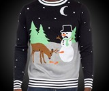 Frosty the Eunuch Ugly Christmas Sweater