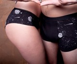 Glow-in-the-Dark Galaxy Underwear