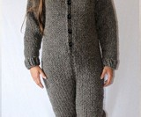 Hand Knit Adult Onesies