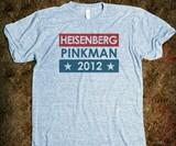 Heisenberg Pinkman 2012 Shirt