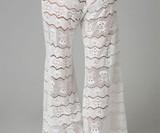 Lace Skull & Crossbones Pants