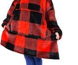 Sherpa Hoodie Blanket