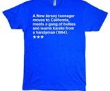 Single Sentence Film Summary T-Shirts