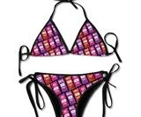 Taco Bell Hot Sauce Bikini & Swim Trunks