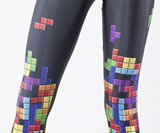 Tetris Leggings Close-up