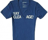 Yay Cleavage T-Shirt
