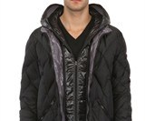 Zip-Up Snow Goggle Coat - Unzipped View